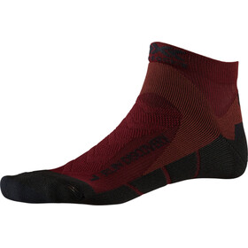 X-Socks Run Discovery Sokken Heren, dark ruby/opal black